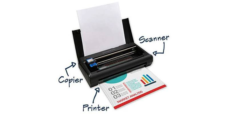 Portable Printers and Scanners