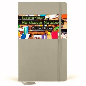 SuperiorMaker Dotted Notebook Hardcover
