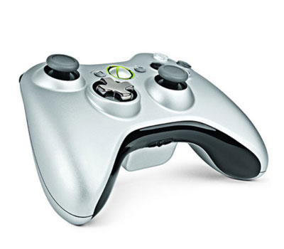 Microsoft Xbox 360 Controller with Transforming D-pad