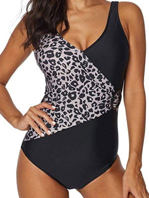 ASERTY Womens One Piece Swimsuit